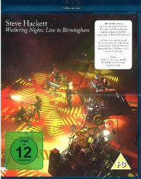 Cover Steve Hackett - Wuthering Nights: Live In Birmingham  [DVD]
